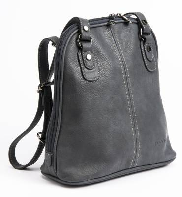Harmaa reppu/laukku