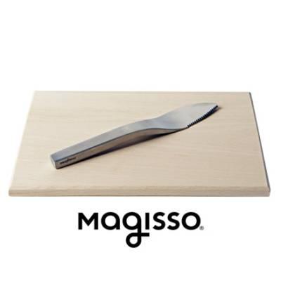 Magisso veitsi ja tarjoilualusta