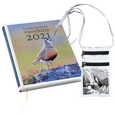 Luonnonystävän vuosikirja 2021 +  Heijastava kännykkäpussi Merimuumi